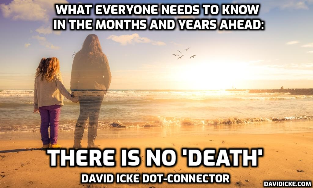 What Everyone Needs To Know In The Months & Years Ahead - There Is No 'Death' - David Icke Dot-Connector