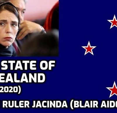 The extraordinary fascism and arrogance of New Zealand dictator and Blair aide Jacinda Ardern. Asked if she was creating two classes of people, the fake vaccinated and un-fake-vaccinated, with different 'rights' she replied: 'Yep'. Where is your self-respect New Zealand being dictated to by this empathy-deleted narcissist?