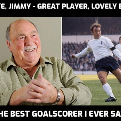 The great Jimmy Greaves has died