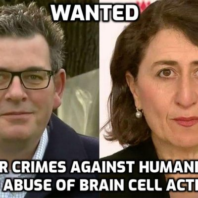 Fascist Australian government slated for plans to stop 'Covid Cabinet' of fascist state premiers from public information disclosure