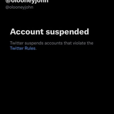 Funeral director John O'Looney is banned from Twitter for exposing the truth about deaths from the fake vaccine - a fake vaccine circulated by the same Cult that controls Twitter, Facebook, Google, and YouTube.  Those running these companies (in theory) Dorsey, Zuckerberg, Page, Brin and Wojcicki are all responsible for the death and suffering of all jab victims  denied informed consent by their criminal and systematic censorship. It's calculated mass murder and they must all go to jail for life when the people take back their world - AS WE WILL