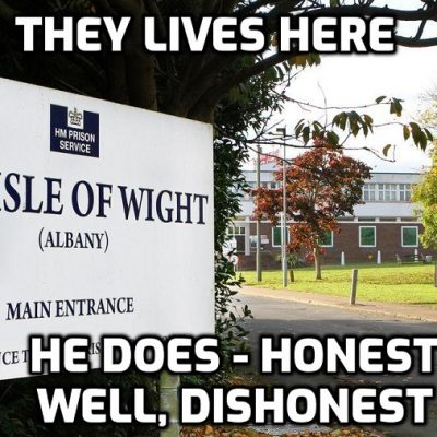 HMP Woke! Isle of Wight prison hands inmates 'gender pronoun' badges for Inclusion Week