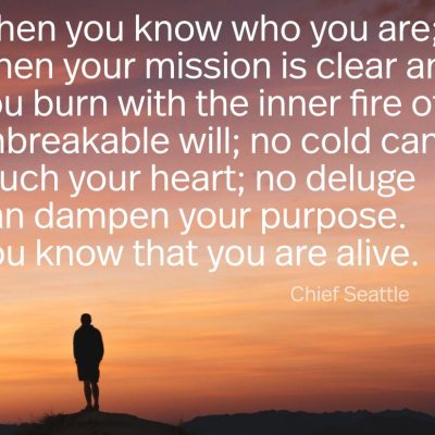 Native American Words of Wisdom