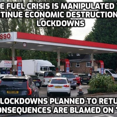 The 'EFFing crisis': Ministers are bracing for months of energy chaos, fuel shortages and empty food shelves as they admit motorists face weeks of queues at filling stations