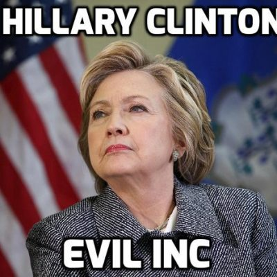 Cult-owned psychopath Hillary Clinton demands Johnson 'mandate vaccines' and wants those refusing jabs sacked - don't worry Lady Evil he's already got the script
