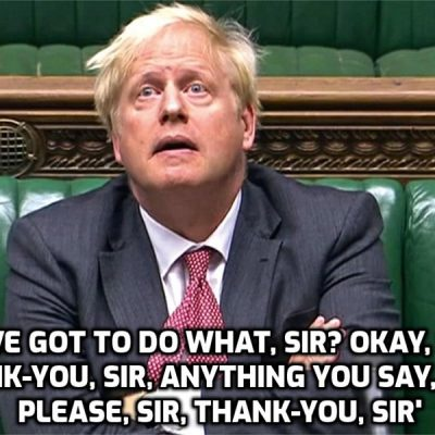 So yawningly predictable ... 'Covid' warning as 'Delta plus' rips through UK – Boris on alert and 'won't hesitate to act' (to do whatever the Cult tells him)