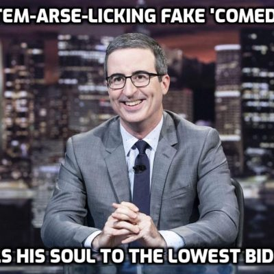 YouTube bans Vietnamese conspiracy exposer after professional censor John Oliver complained while trying and failing to impersonate a comedian