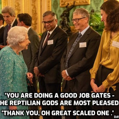 Cult gofers assemble for the Queen at Windsor Castle